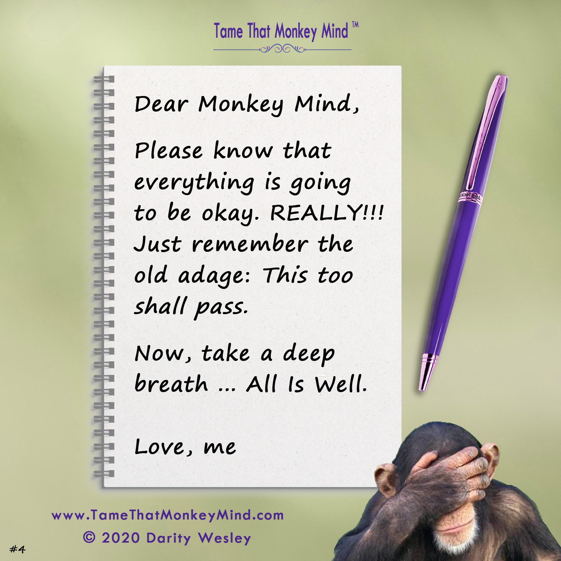 Dear Monkey Mind #4