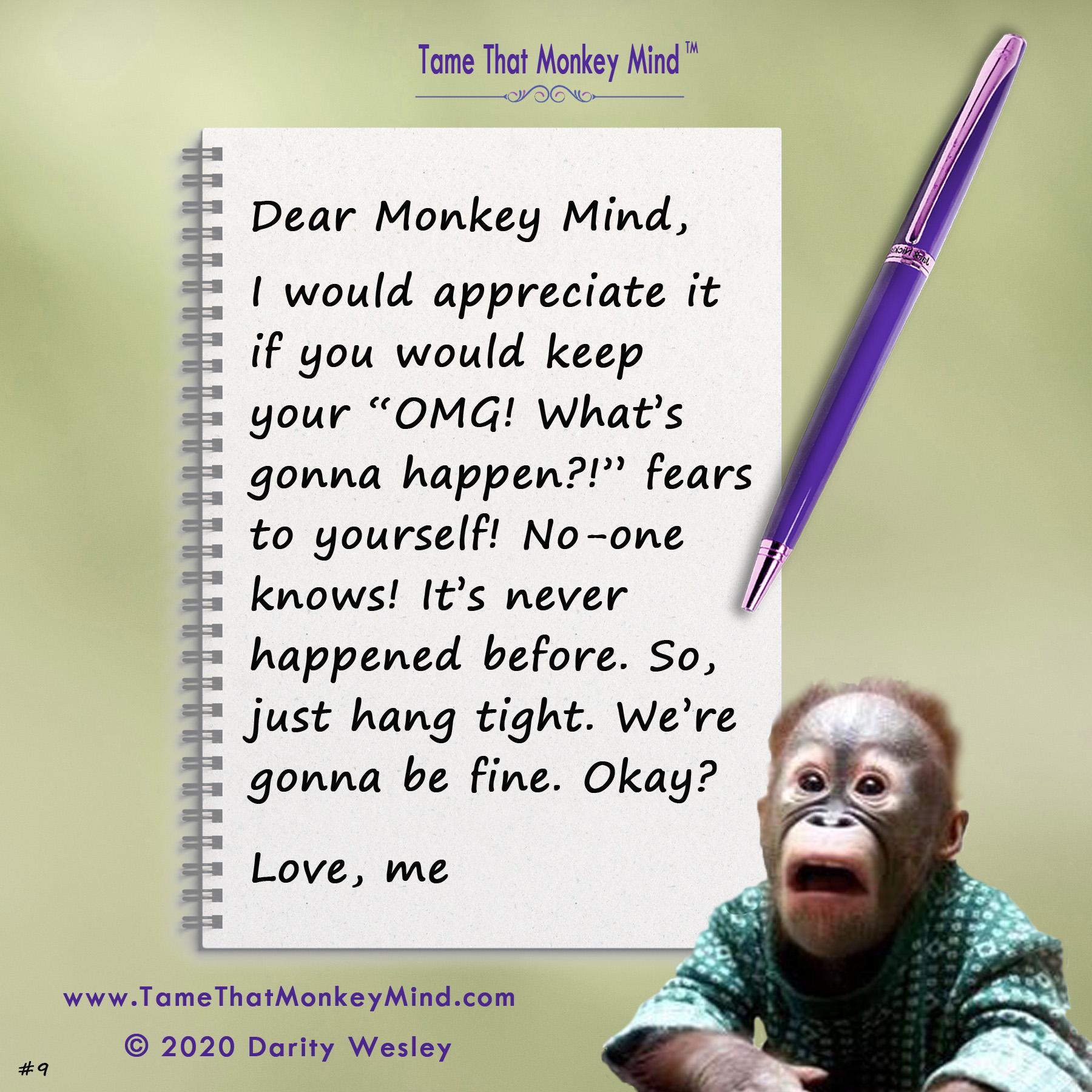 Dear Monkey Mind #9