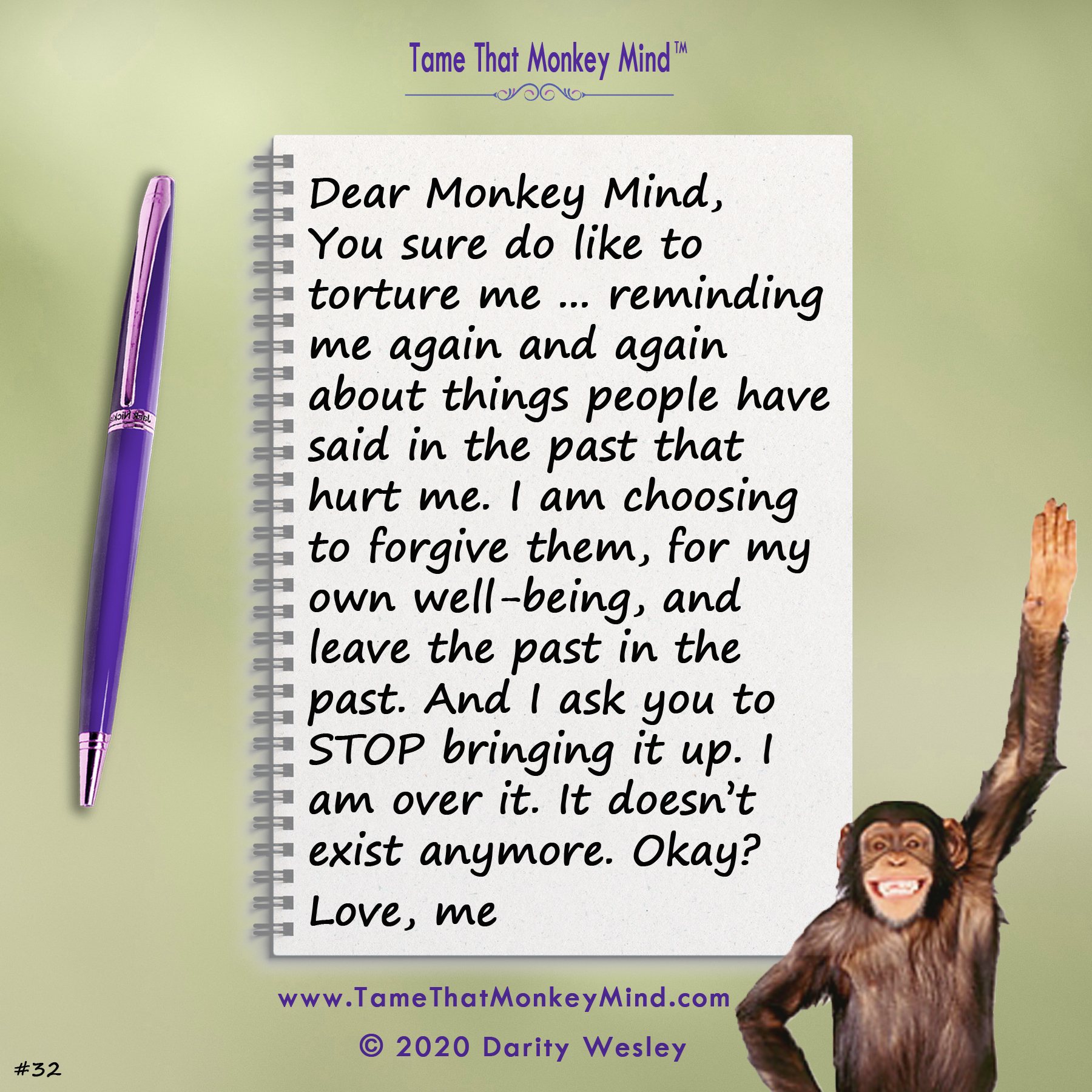 Dear Monkey Mind #32