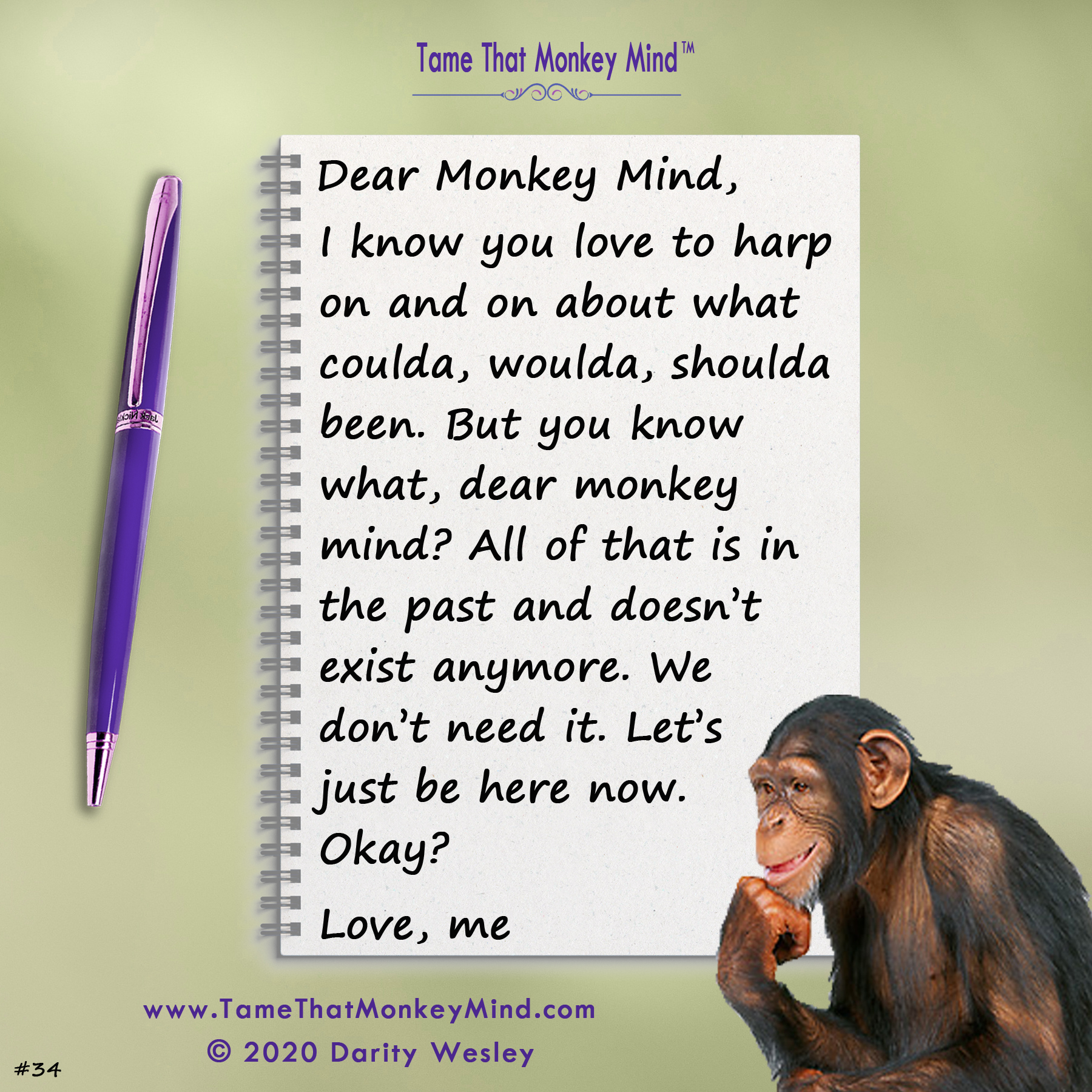 Dear Monkey Mind #34