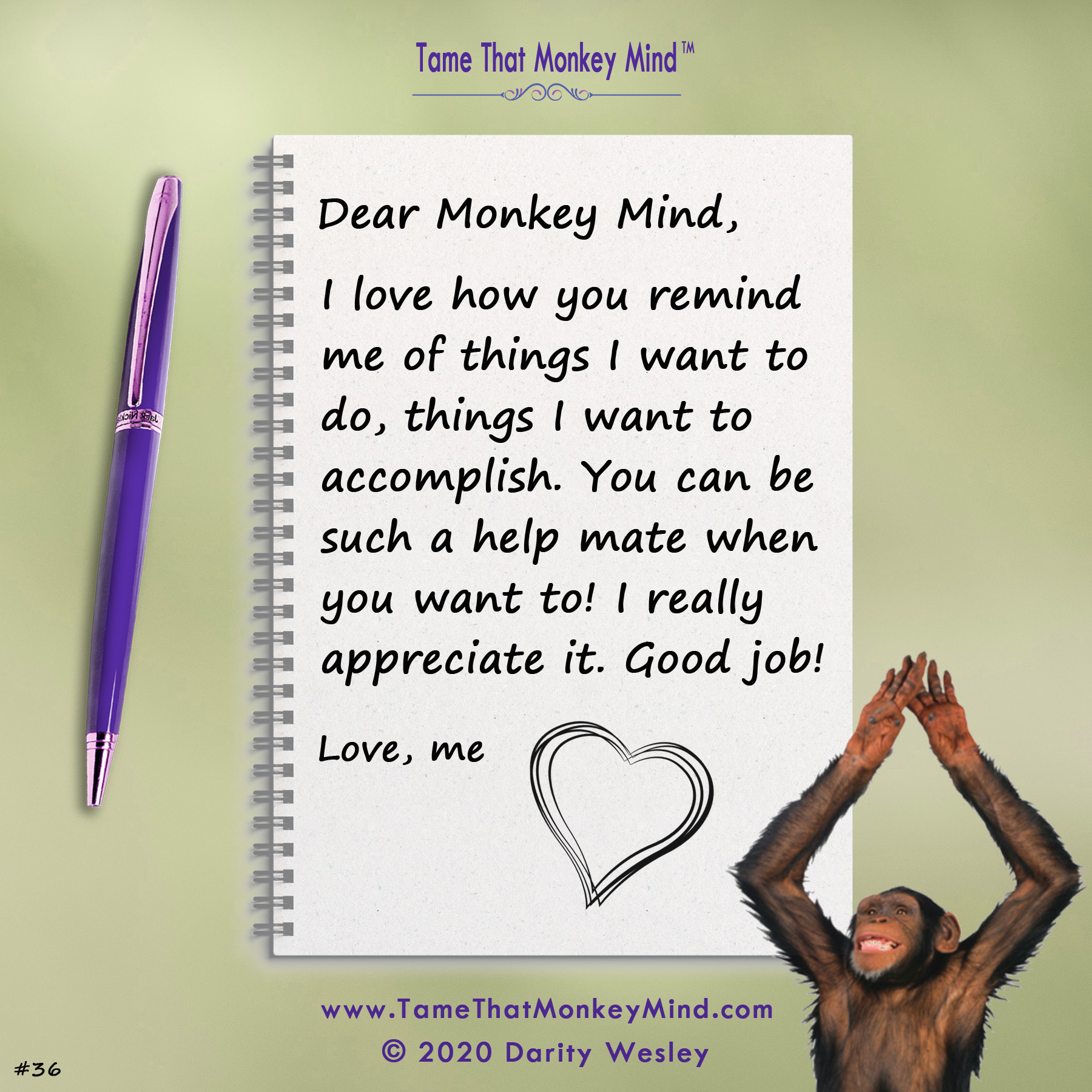 Dear Monkey Mind #36