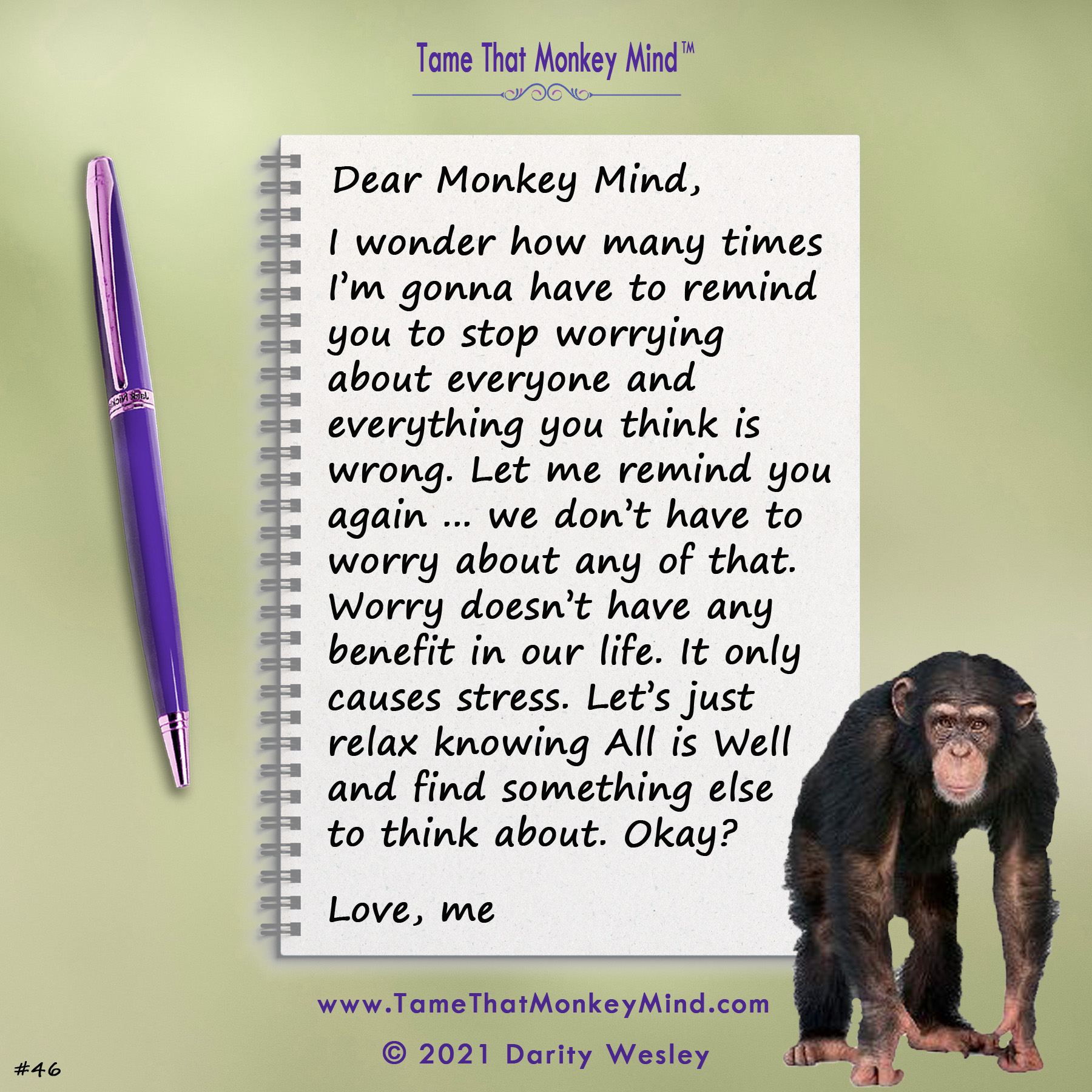 Dear Monkey Mind #46