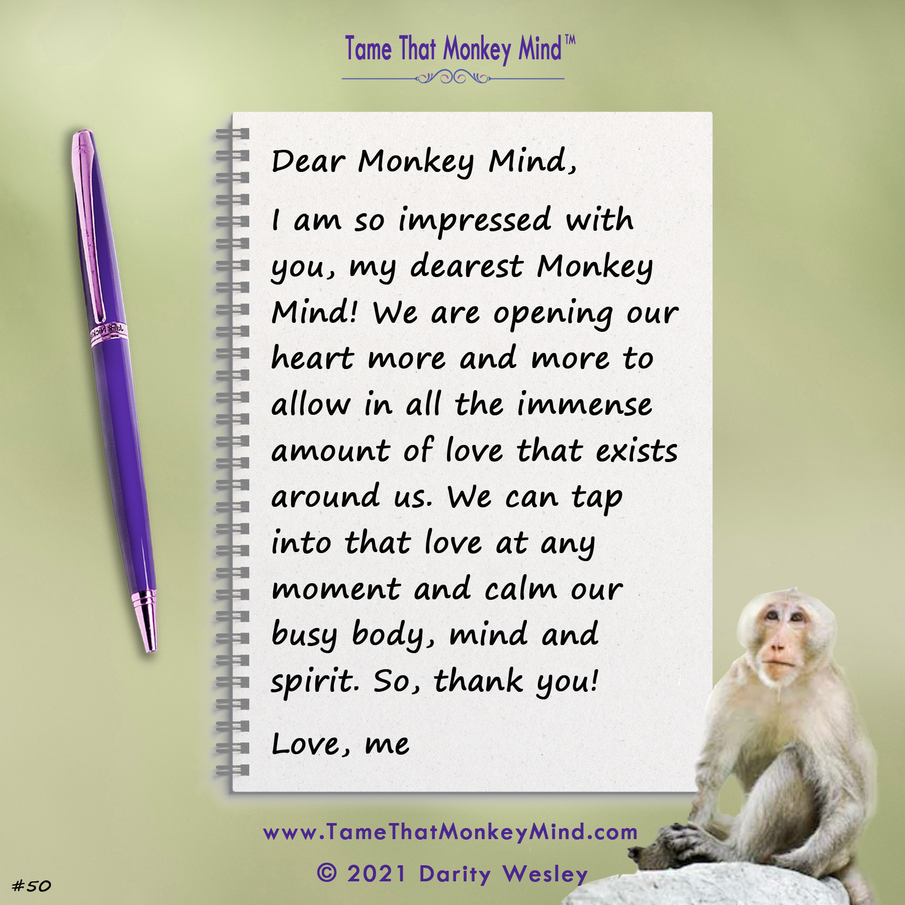 Dear Monkey Mind #50