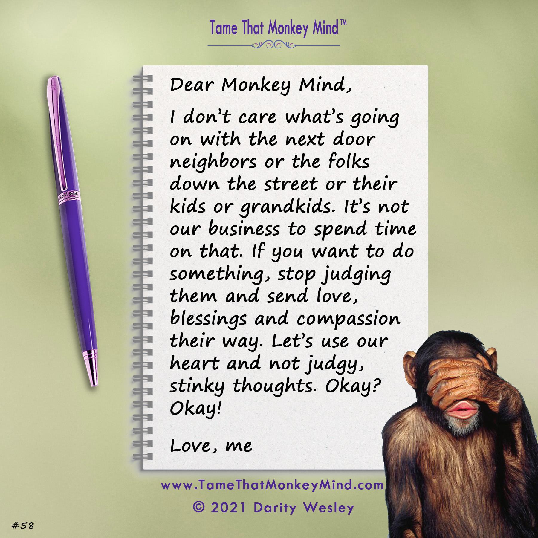 Dear Monkey Mind #58a